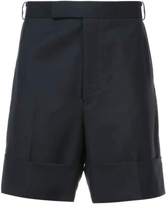 Thom Browne folded hem tailored shorts