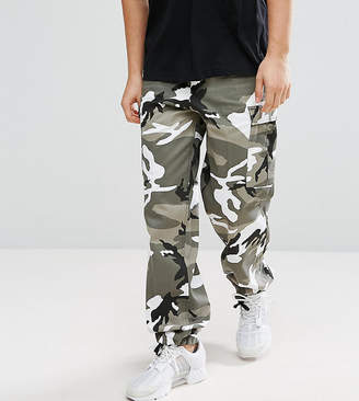 Reclaimed Vintage revived camo cargo pants
