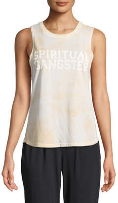 Spiritual Gangster Varsity Graphic Muscle Tank