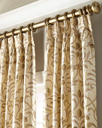 "Thomas Laboratories Misti Modern Luxuries Barbara Curtain Panel, 108"""