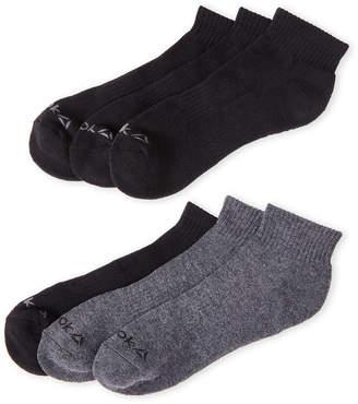 Reebok 6-Pack Quarter-Cut Performance Socks