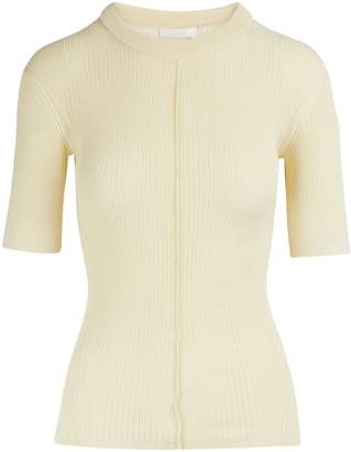 Chloé Silk-blend top