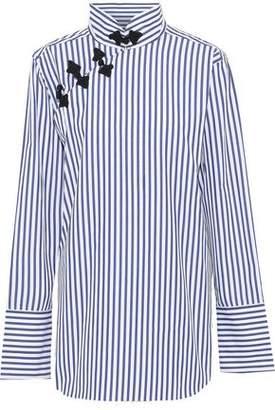 aea8eefadf5c6f Marques Almeida Marques  Almeida Oversized Striped Cotton-poplin Shirt
