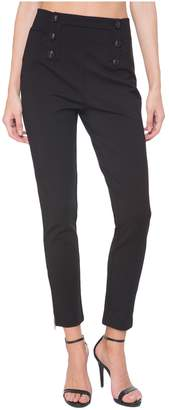 Juicy Couture Ponte Button Front Pant