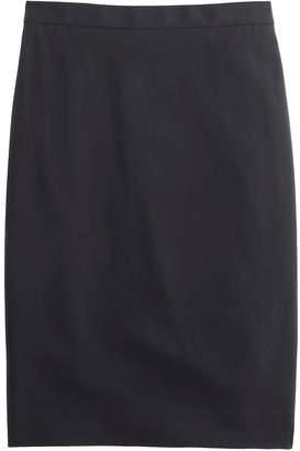 J.Crew Pencil skirt in Italian two-way stretch wool