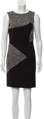 Nicole Miller Mini Sheath Dress Grey Mini Sheath Dress