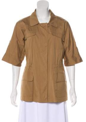 Lafayette 148 Casual Short Sleeve Jacket