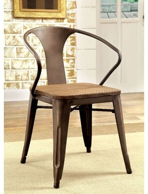17 Stories Nick Solid Wood Dining Chair 17 Stories