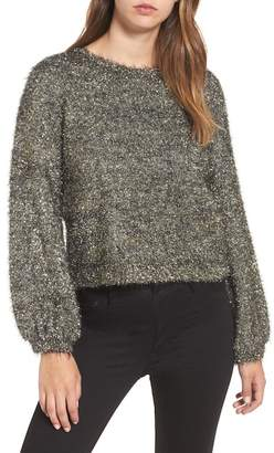 Leith Fluffy Sparkle Sweater