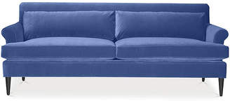 Kate Spade Pierce Sofa - Cobalt Velvet