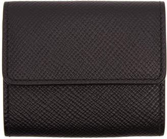 Smythson Black Panama Coin Purse