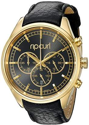 Rip Curl Women's 'Bailey Chrono' Quartz Stainless Steel and Leather Sport Watch