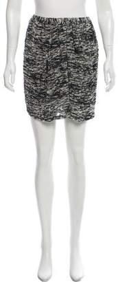 Isabel Marant Velvet Print Skirt