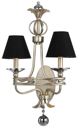 AF Lighting Af Lighting Cirque Two-Light Shades Sconce