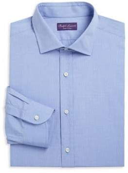 Ralph Lauren Purple Label End On End Dress Shirt