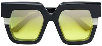 Jacques Marie Mage Lipton oversize sunglasses