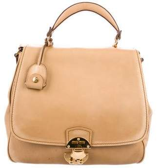 Miu Miu Smooth Leather Satchel 003d5635a73c8
