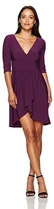 Star Vixen Women's Petite Elbow Sleeve Surice with Tulip Skirt