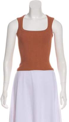 Alaia Sleeveless Crop Top