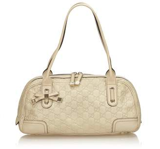 Gucci Vintage Guccissima Leather Princy Shoulder Bag
