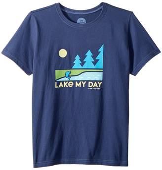Life is Good Lake My Day Tee Boy's T Shirt