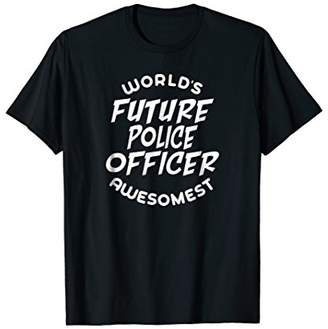 Police Officer Costume Kids Future Police Officer T Shirt