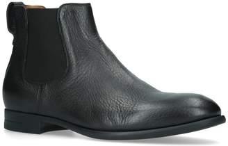 Ermenegildo Zegna Leather Flexible Chelsea Boots
