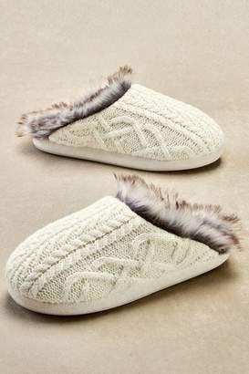 Soft Surroundings Cabin Slippers