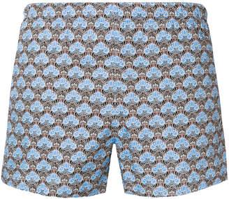 Prada printed swim shorts