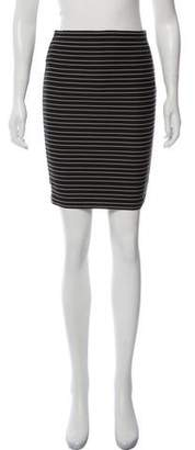 Boy By Band Of Outsiders Striped Knee-Length Pencil Skirt