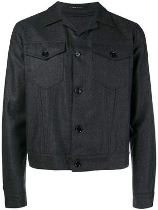 Tagliatore woven shirt jacket