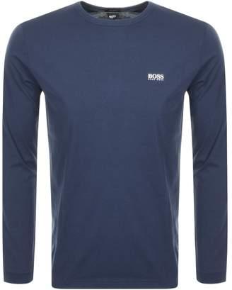 374b9c92a Boss Athleisure BOSS Athleisure Long Sleeve Togn T Shirt Navy