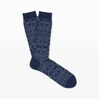 Anonymous Ism Paisley Sock $26 thestylecure.com