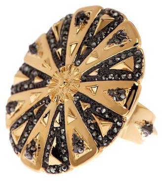 House Of Harlow Ornamental Medallion Ring - Size 5