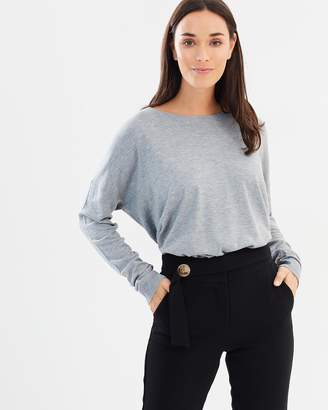 Polo Ralph Lauren Side-Slit Crew-Neck Sweater