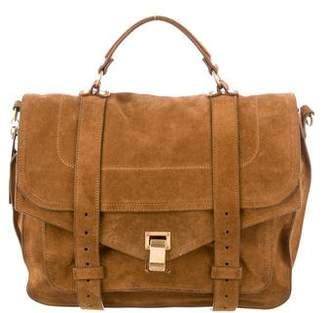 Proenza Schouler PS1 Suede Messenger Bag