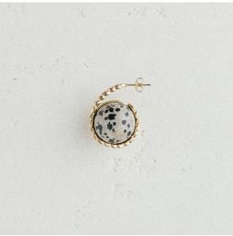 Maje Left Earring With Natural Stone