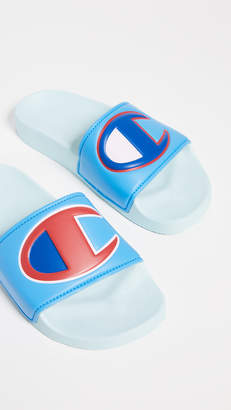 5de9d83a7c5 Champion IPO Colorblock Slides