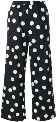 Aspesi polka dot trousers