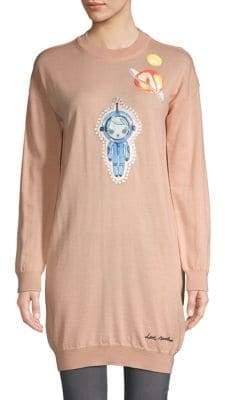 Love Moschino Graphic Sweater