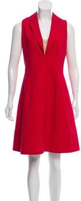 Paule Ka Sleeveless A-Line Dress
