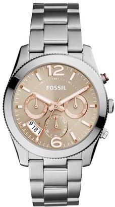 Women's Fossil 'Perfect Boyfriend' Multifunction Bracelet Watch, 39Mm $145 thestylecure.com