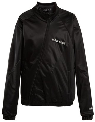 Martine Rose Twisted Track Jacket - Womens - Black