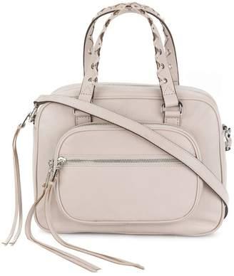 DKNY top zip satchel