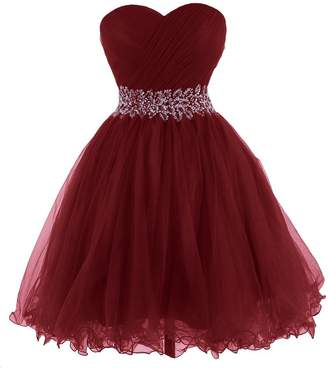 KARMA PROM Women's Sweetheart Tulle Cocktail Dress Homecoming Dress US