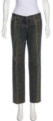 CNC Costume National Mid-Rise Wide-Leg Jeans Grey Mid-Rise Wide-Leg Jeans
