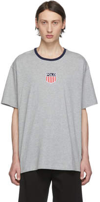 Polo Ralph Lauren Grey Classic Fit Graphic T-Shirt
