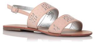 Bell Embellished Sling Back Sandals