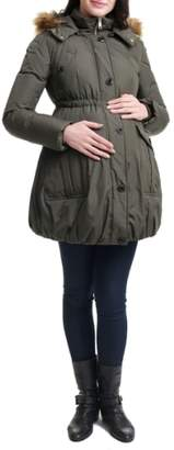 Kimi and Kai Dixie Down Maternity Parka