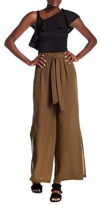 Dex Wide Leg Split Side Pants